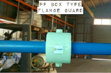 PP box type flange guard